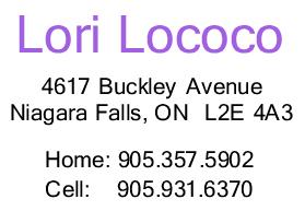 Lori contact info (2)